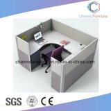파일 캐비넷 CAS-W1857를 가진 고아한 최신 판매 2 시트 사무용 컴퓨터 테이블