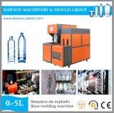 Máquina semiautomática del moldeo por insuflación de aire comprimido del animal doméstico de 1 litro a de 2 litros