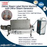 Het Etiket van de stoom krimpt Machine met 24kw de Generator van de Stoom (ZB83A)