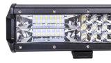 Une luminosité superbe trois rangées de 64 W barre lumineuse à LED voiture camion 4x4 hors route barre lumineuse à LED