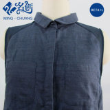 Nuovo vestito dalla camicia delle donne del cotone dei vestiti di stile