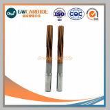 Escariadores de carburo de tungsteno para máquinas CNC escariado
