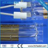 Calefactor de infrarrojos de cuarzo con reflector de oro