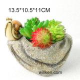 シミュレーション販売のための石造り様式の樹脂の水気が多い鍋