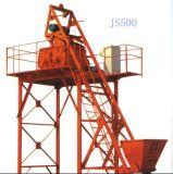 De tweeling Horizontale Concrete Mixer van de Schacht (JS500)