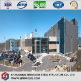 低価格モジュラーアーキテクチャデザインプレハブの鉄骨構造の建物