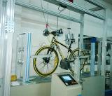 Simular el viaje del equipo de prueba de bicicletas