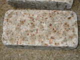 Goedkoop tuimel Gele Cobble van de Steen van het Graniet voor Oprijlaan