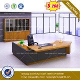 크롬 금속 기초 유리제 관리 사무소 테이블 /Desk (HX-8NE018C)