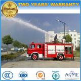 O incêndio do tanque da espuma do motor de incêndio 2000L do petroleiro da água de Dongfeng 4X2 6000L extingue o caminhão