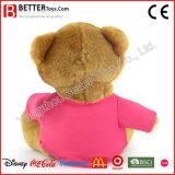 Jouets mous d'ours de nounours de T-shirt de peluche de peluche pour des gosses/enfants