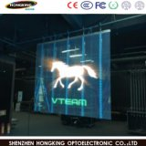 LED de vídeo P5.2mm Display LED transparente de cor total