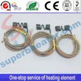 Calentador de bobina industrial de la boquilla con el termocople para el molde caliente del corredor