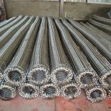 Carton ondulé en acier inoxydable flexible tressé métallique flexible
