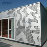 ألومنيوم جدار [كلدّينغ] زخرفيّة شاشة ألوان ليزر قطعة لون