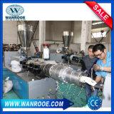 Ligne en plastique d'extrusion de pipe de machine d'extrudeuse de PE de PVC de vis jumelle conique de Sjsz