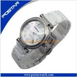 Hochwertige keramische Dame-Quarz-Uhr-Armbanduhr