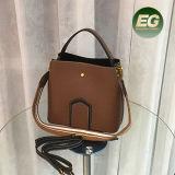 Nuovo sacchetto di mano della spalla della donna della borsa della signora di sacchetto del cuoio genuino modo con il prezzo più poco costoso Emg5268