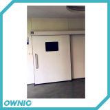 病院の/Operatingの劇場(または) /Electronic -研修会のためのDunkerモーターを搭載するDmnh01-2自動密閉Slidngのドア