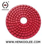 Tamponi a cuscinetti per lucidare stridenti della resina degli strumenti del bordo del diamante per la cella di smerigliatrice concreta
