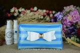 Clases impresas rayadas de bolso cosmético del PVC del organizador del maquillaje del color para la mujer