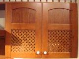 Gabinete de cozinha americano da madeira contínua do bordo do estilo (JX-KCSW024)