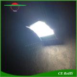 無線レーダーの動きセンサー24LED屋外のRechargebleランプの太陽壁ライト