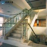층계를 위한 현대 디자인 스테인리스 유리제 방책
