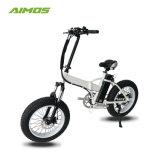250W gordura dobra dos pneus de bicicletas eléctricas com acelerador de torção