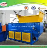 Plastica residua che ricicla la singola macchina della trinciatrice dell'asta cilindrica