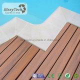 Compuesto Eco Decking de madera para el paisaje con hermosa mezcla de la textura del color