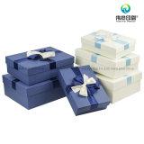Taille et couleur différentes de boîte-cadeau de empaquetage de papier d'imprimerie