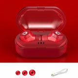 De mini Waterdichte Ipx7 Ware Draadloze Oortelefoon Draadloze Earbuds van Tweelingen Tws met de Bank van de Macht