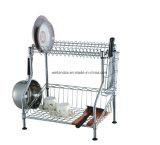 Suprimento patenteado da fábrica da prateleira do estante do prato da cozinha do cromo (CJ-C1146)