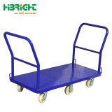 Supermarché Cargo panier Chariot de la main de Métal en plastique chariot plate-forme