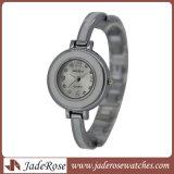 Aleación de mujer clásico reloj de cuarzo resistente al agua con lamoda ver