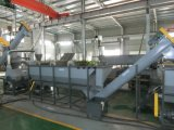1500 kg/h 애완 동물 기계 중국을 재생하는 플라스틱 병 조각