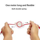 Многофункциональный складной плоский рисовая лапша 3 в 1 Micro USB-кабель