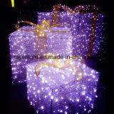 Xmasのモールの照明装飾のためのLEDのモチーフライトギフト用の箱