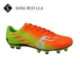 Новый дизайн популярной футбольные бутсы с шипами футбол обувь