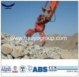 Encavateurs hydrauliques de roche de peau d'orange