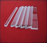 明確で高い伝送の耐熱性石英ガラスの水晶ガラスシート