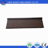 Type en bois tuiles de matériaux de construction de résistance thermique de toit enduites de pierre