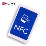 Etiqueta elegante de la escritura de la etiqueta Ntag216 RFID de la etiqueta NFC de la proximidad RFID