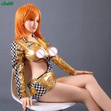 169cm reales Silikonjapanische Anime-junges Mädchen-erwachsene Liebes-Geschlechts-Puppe