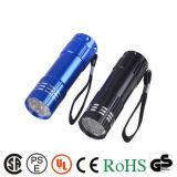 최신 판매 고성능 재충전용 LED 토치 플래쉬 등