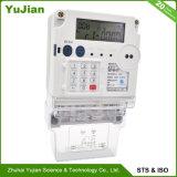 Одна фаза Prepaid Smart электронной энергии с помощью дозатора Sts утверждения 220V