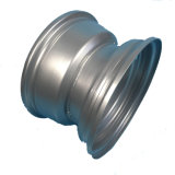 10','x6'' OEM стальной обод колеса автомобиля поля для гольфа в серебристый цвет