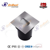 Stilvolles CREE LED 3W LED Jobstepp-Licht in IP65