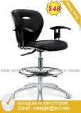 Weißes Leder-vollkommener Qualitätspersonal-Stuhl (Hx-5847b)